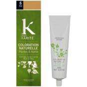 K Pour Karite Homme - COLORATION NATURELLE BLOND FONCÉ N°6 - Coloration Cheveux/ Barbe