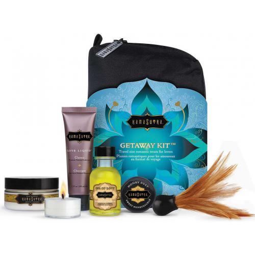 Kamasutra - Kit Complet Format Voyage - Sélection Stay at Home