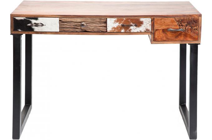 Bureau kare design 4 tiroirs bureau pas cher for Bureau tiroir pas cher