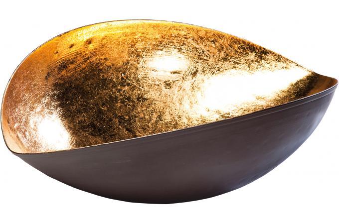 coupe kare design goldfinger leaf 39cm accessoires
