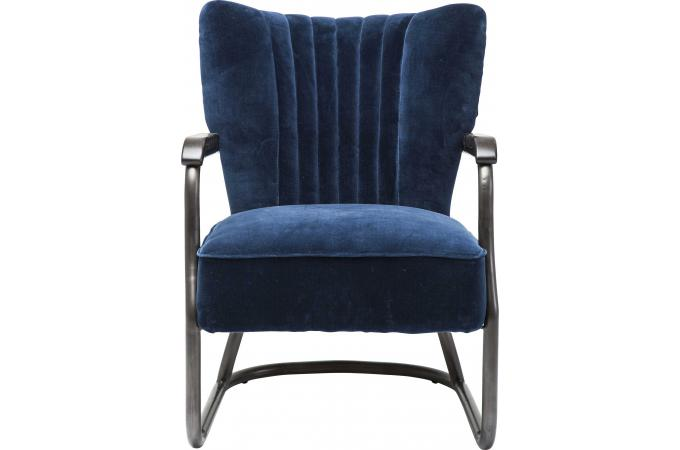 fauteuil kare design texas velours bleu fauteuil design pas cher. Black Bedroom Furniture Sets. Home Design Ideas