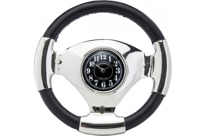 horloge steering wheel horloge design pas cher. Black Bedroom Furniture Sets. Home Design Ideas