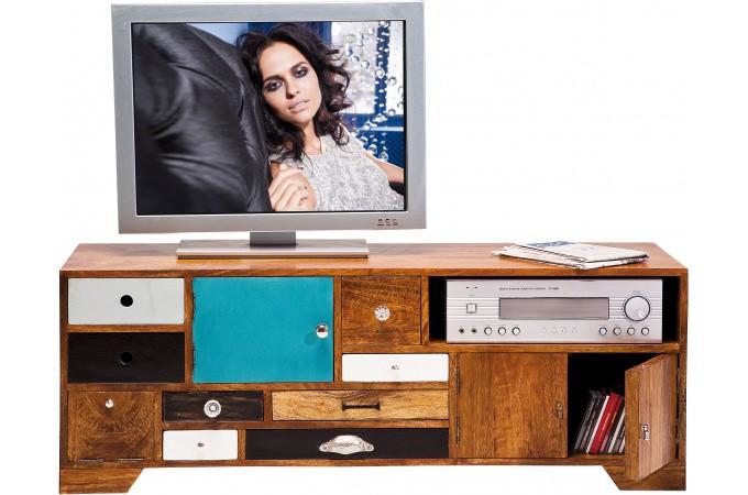 meuble tv kare design multicolore coco meuble tv pas cher. Black Bedroom Furniture Sets. Home Design Ideas