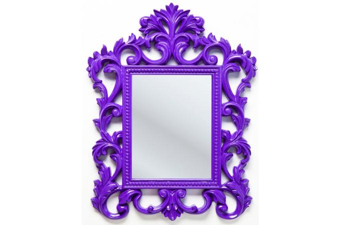 miroir violet. Black Bedroom Furniture Sets. Home Design Ideas