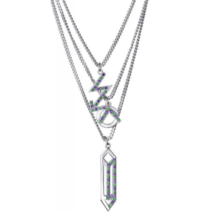 Collier et pendentif Argent Blanc - Kenzo Bijoux   bijoux Kenzo ... 4e4606b250b2