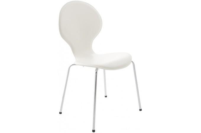 Chaises blanche design vague chaise design pas cher - Chaise design blanche pas cher ...