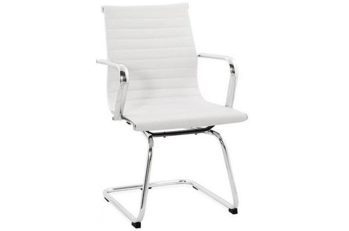 Fauteuil de bureau blanc deco design - Fauteuil de bureau blanc pas cher ...