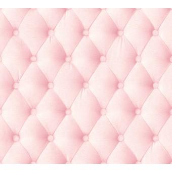 papier peint capiton rose poudr papier peint capitonn. Black Bedroom Furniture Sets. Home Design Ideas