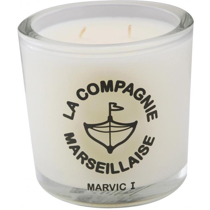 grande bougie marvic i 600g la compagnie marseillaise parfums homme homme. Black Bedroom Furniture Sets. Home Design Ideas