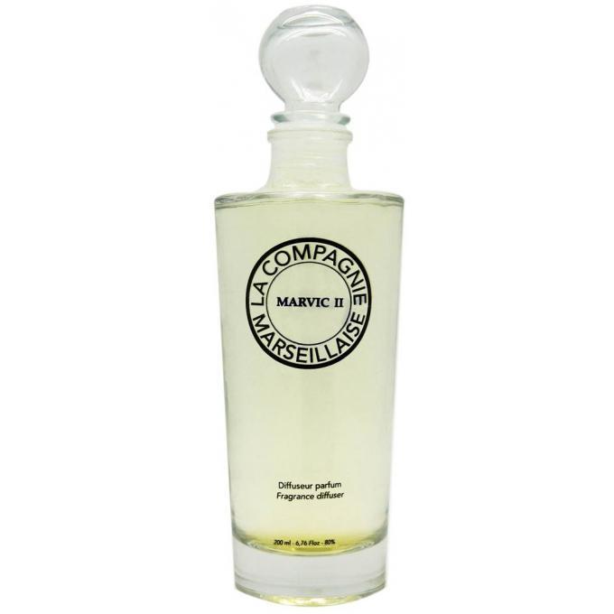 diffuseur de parfum marvic ii 200ml batonnets la compagnie marseillaise parfums homme homme. Black Bedroom Furniture Sets. Home Design Ideas