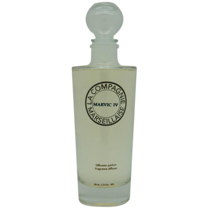 diffuseur de parfum marvic iv 200ml batonnets la compagnie marseillaise parfums homme homme. Black Bedroom Furniture Sets. Home Design Ideas