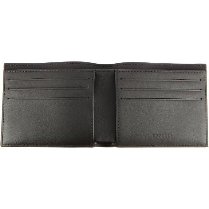 Coffret portefeuille 2 volets porte cartes cuir fg lacoste portefeuille porte cartes homme - Portefeuille porte carte homme ...