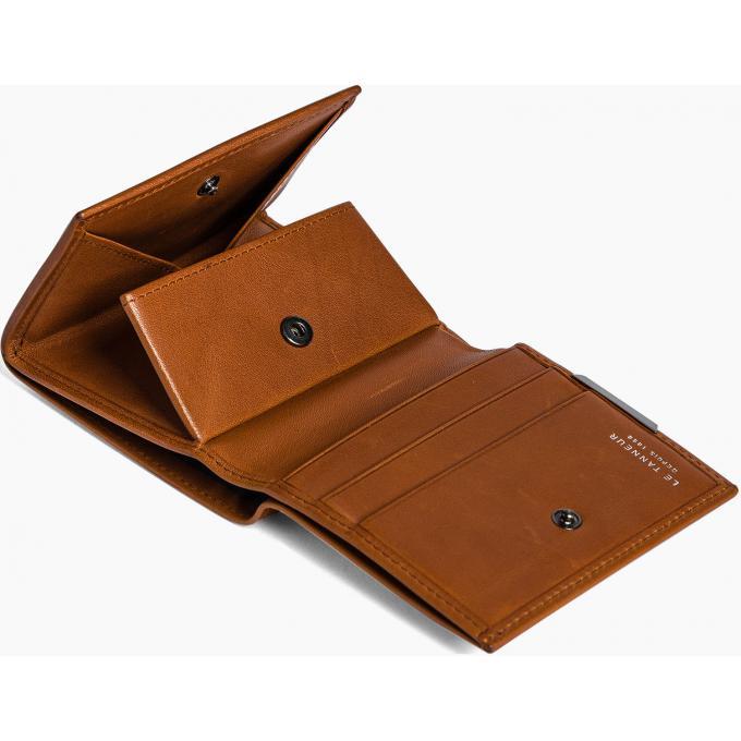 porte monnaie carr baudelaire cuir avec porte cartes le. Black Bedroom Furniture Sets. Home Design Ideas