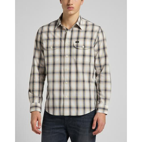 Lee - Chemise sable Worker shirt - Vetements homme