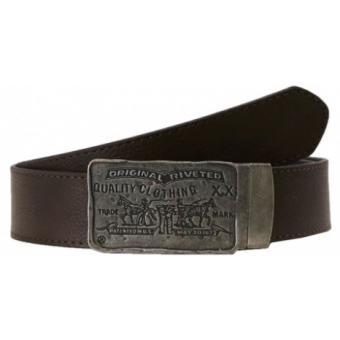 ceinture cuir homme plaque travaill e rio de la plata levi 39 s ceinture bretelle homme. Black Bedroom Furniture Sets. Home Design Ideas