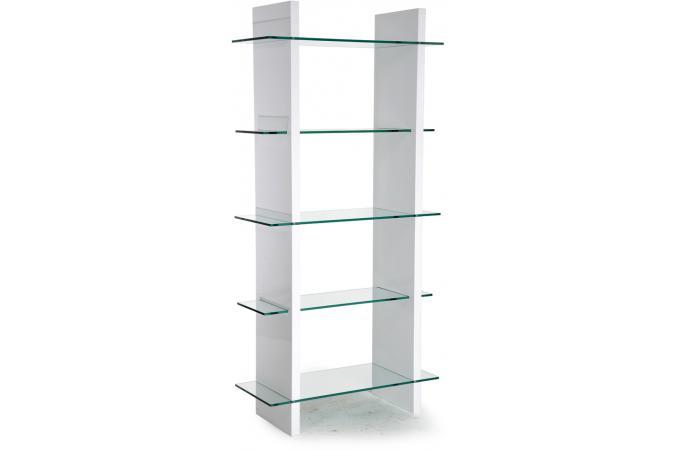 Etag re blanche verre transparent etag re pas cher - Etagere en verre pas cher ...