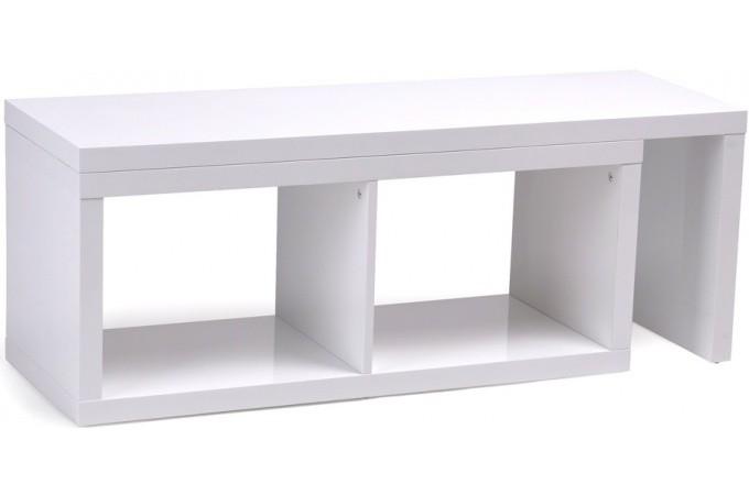 meuble tv extensible blanc meuble tv pas cher. Black Bedroom Furniture Sets. Home Design Ideas