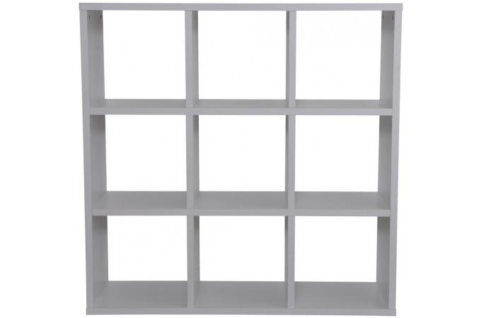 Rangement 9 cases blanc meuble de rangement pas cher for Meuble 8 cases pas cher