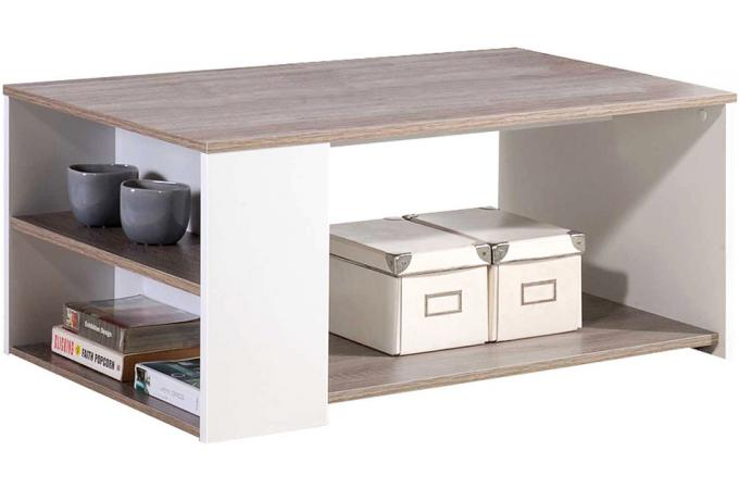 Table basse ch ne griff blanche table basse pas cher for Table basse pas cher design