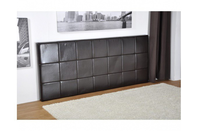 t te de lit capitonn marron dreamer t te de lit pas cher. Black Bedroom Furniture Sets. Home Design Ideas