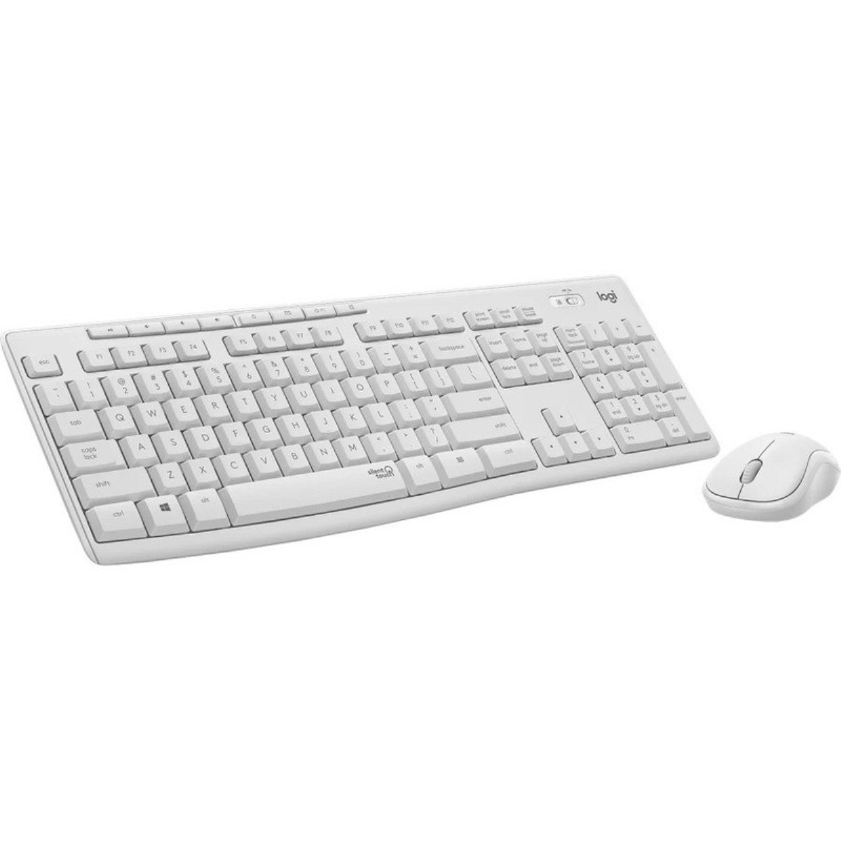 logitech mk295 blanc clavier et souris sans fil