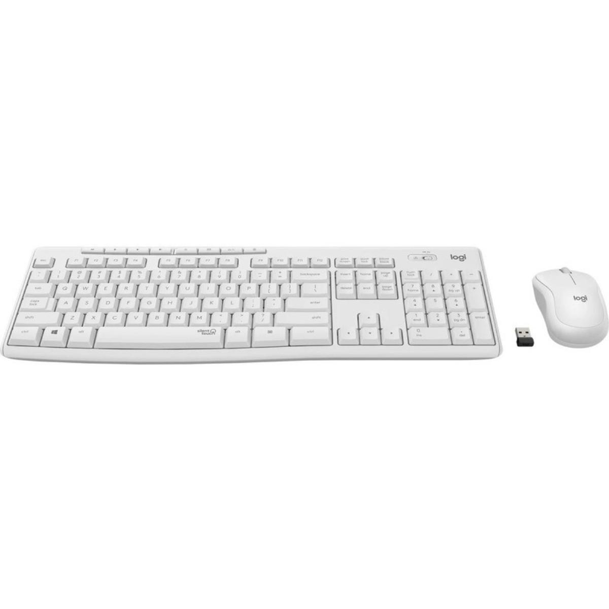 logitech mk295 blanc clavier et souris