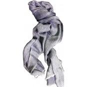 Loxwood Homme - ECHARPE GRISE EN BLEUE - Echarpe/ Gants/ Bonnet