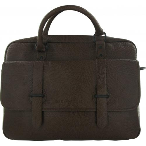 Mac Douglas - PORTE DOCUMENT CUIR CHOCOLAT PHILIBERT - Porte document homme cuir