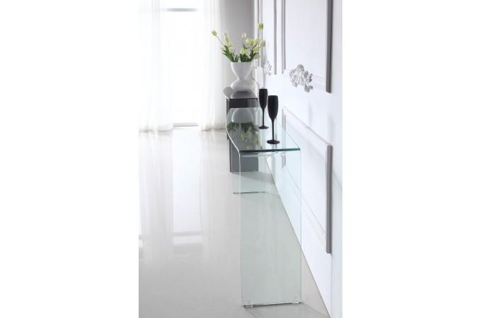 console design en verre bali console pas cher. Black Bedroom Furniture Sets. Home Design Ideas