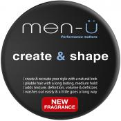 Men-ü - CREATE & SHAPE CIRE DE COIFFAGE - Cosmetique homme men u