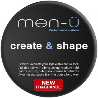CREATE & SHAPE CIRE DE COIFFAGE Men-ü