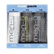 Men-ü - Kit de Soins Visage Matifiants - Cosmetique homme men u