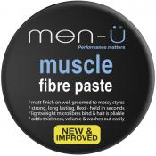 Men-ü - MUSCLE FIBRE PASTE CREME DE COIFFAGE - Cosmetique homme men u