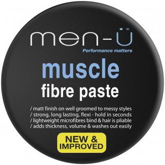 MUSCLE FIBRE PASTE CREME DE COIFFAGE Men-ü