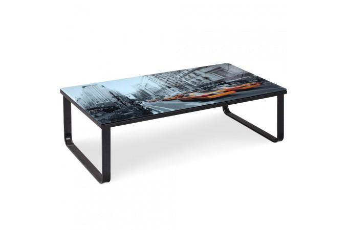 Table basse noire en m tal porto novo table basse pas cher - Table basse metal pas cher ...