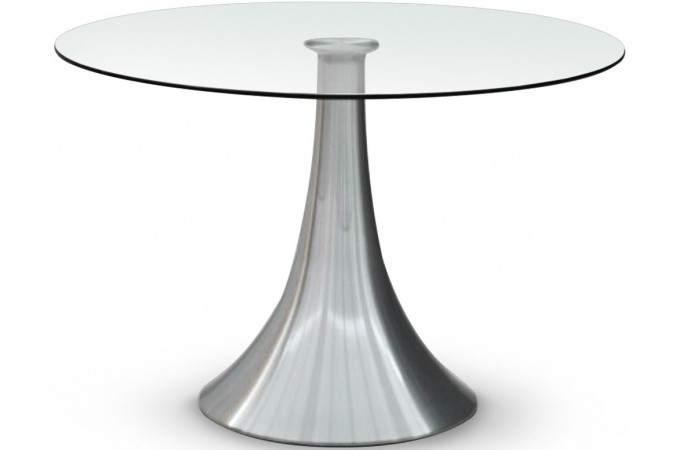 Table transparente en verre a ko table manger pas cher - Table a manger industriel pas cher ...