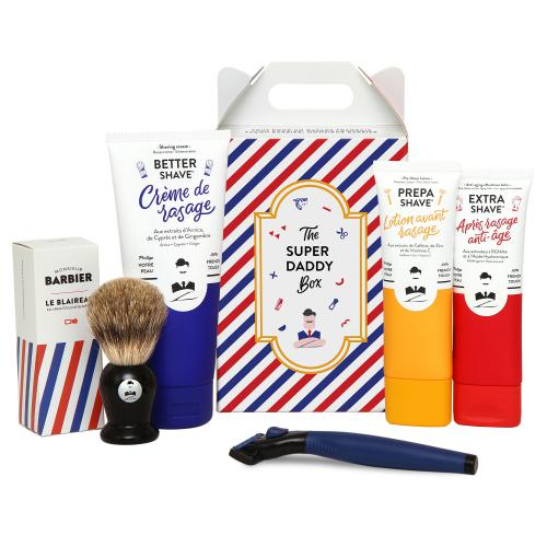 Monsieur Barbier - Coffret de Rasage SUPER DADDY - Rasage monsieur barbier