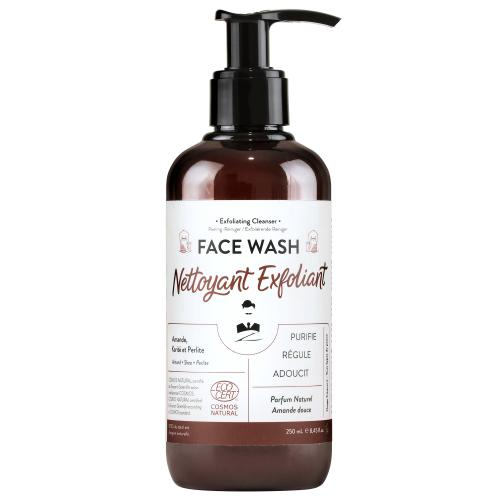 Monsieur Barbier - Nettoyant Exfoliant Visage Face Wash - Rasage monsieur barbier