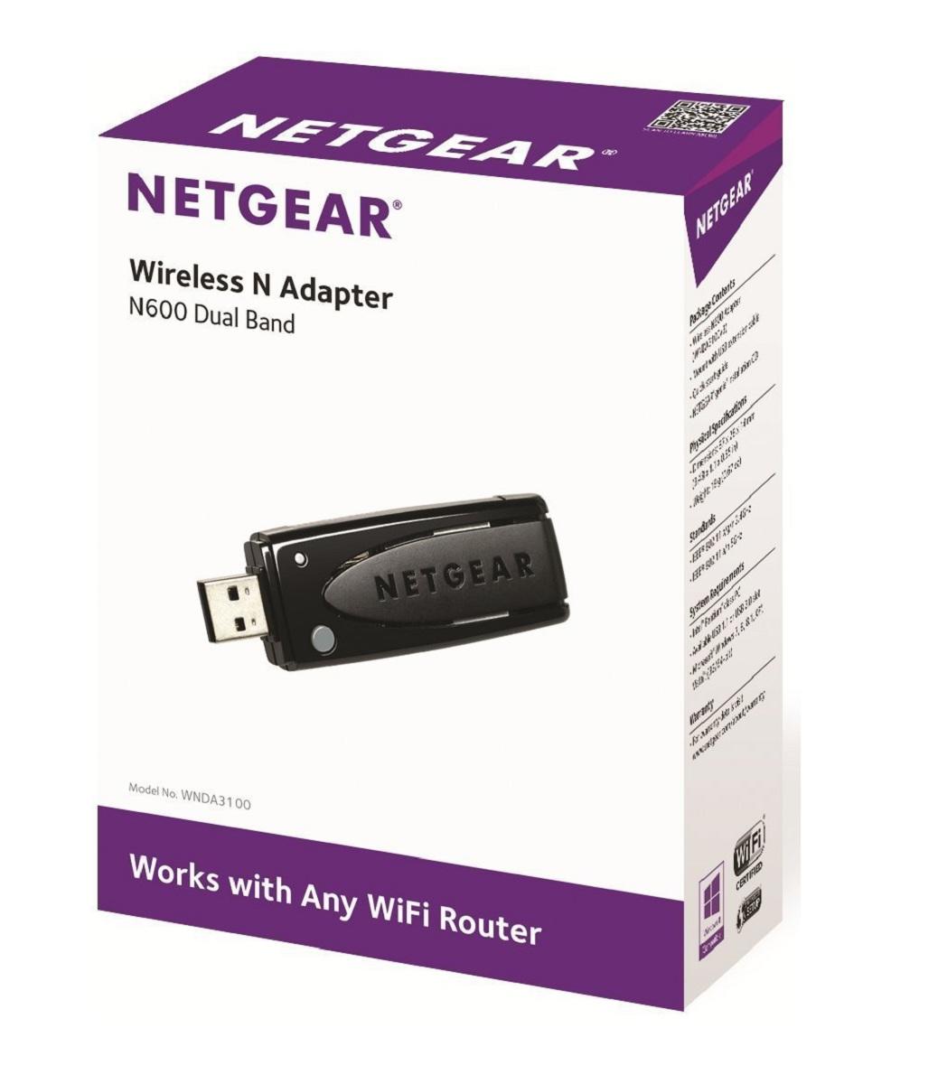 N600 Adaptateur Wifi - USB - Dual Band