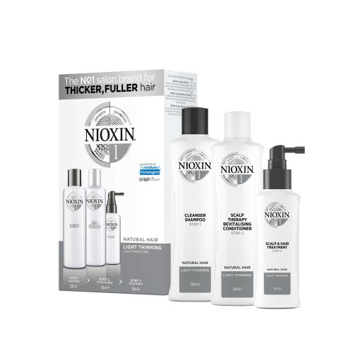 Nioxin - Kit anti-chute System 1 - Cheveux normaux à fins - Soins cheveux nioxin