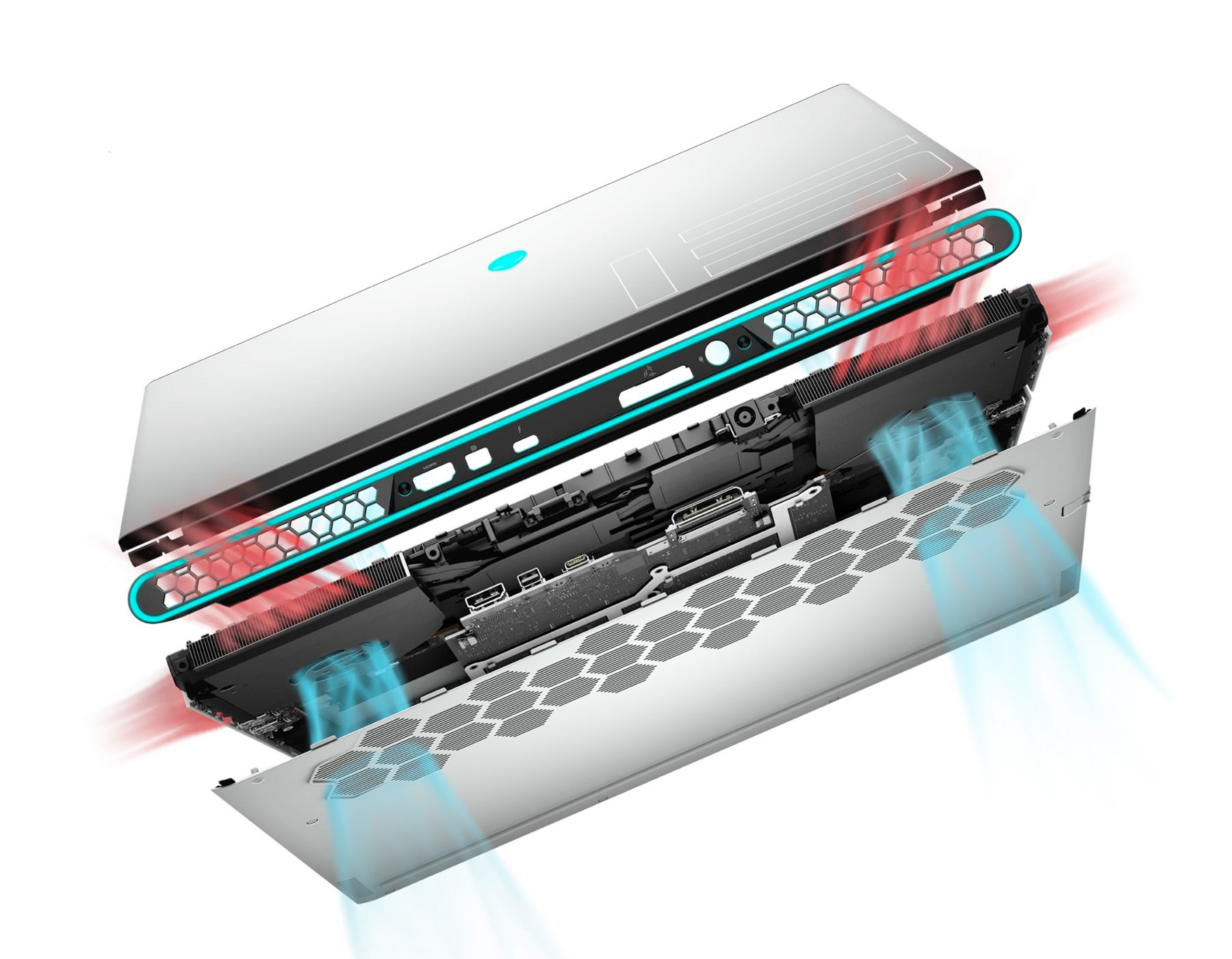 Alienware M15 R3 - Argent