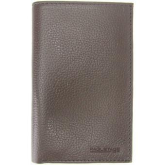 PORTEFEUILLE VERTICAL EUROPE – Cuir Paquetage