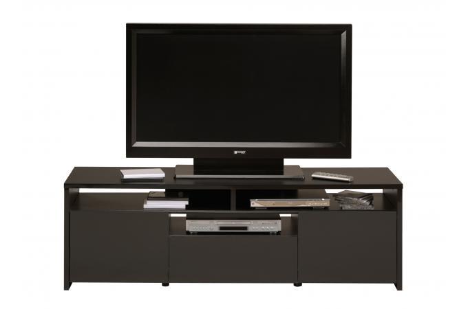 Meuble de tv noir meuble tv pas cher for Meuble tv pas cher noir