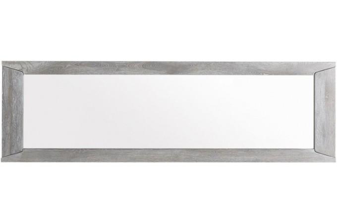 Miroir rectangulaire plaqu bois sidney miroir - Miroir rectangulaire pas cher ...