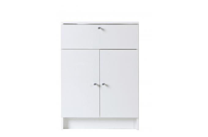 Petite armoire de salle de bain blanche meuble salle de for Armoire salle de bain pas cher
