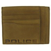 Police Maroquinerie Homme - PORTE CARTES DOUBLE FACE -