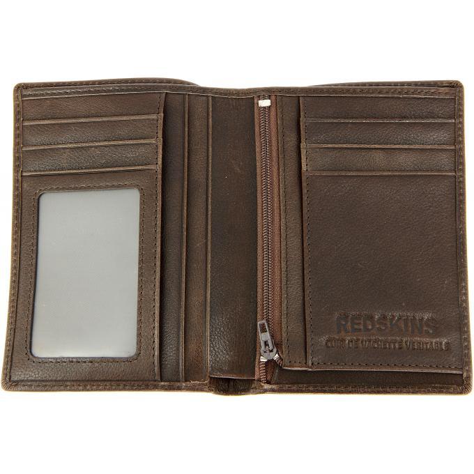 PORTEFEUILLE CARL – Cuir Rugueux · Portefeuille   Porte cartes homme  Redskins f632e15fe56