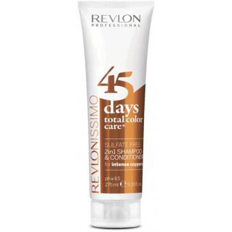 Color Care 45 Days Shampoing et Soin Intense Coppers