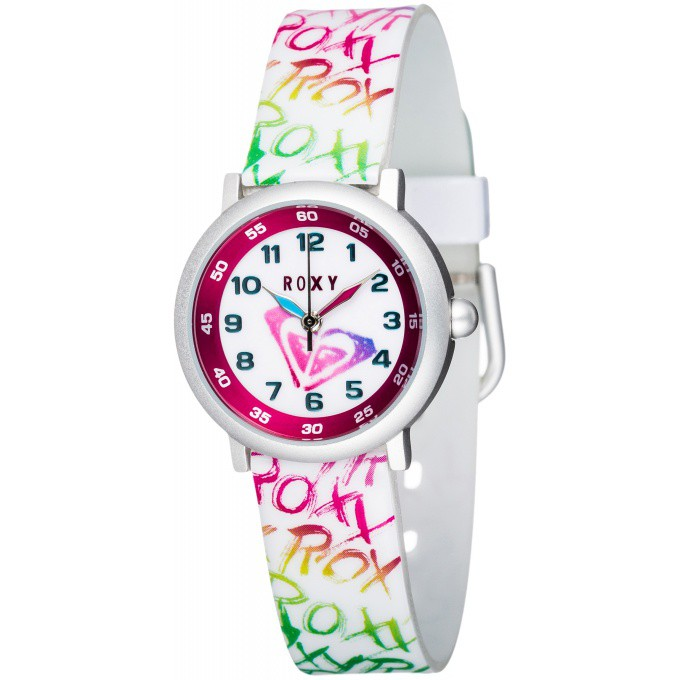 promotion Montre Roxy Dolphy EW243BR-AWHT - Montre Ronde Multicolore Enfant