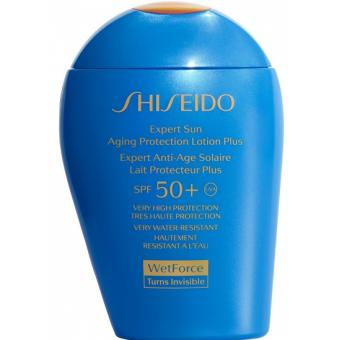 Shiseido Men - Soin Solaire Wet Force Lait Protecteur Anti-Age SPF50+ - Cosmetique shiseido men